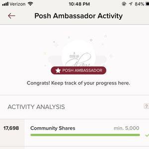 Posh ambassador 💕